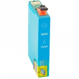 Cartucho Epson T2632 26XL Cyan Compatible