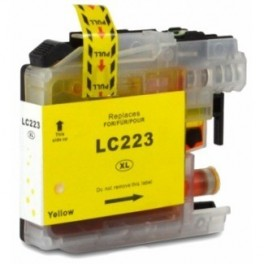 Cartucho Brother LC223Y Amarillo Compatible