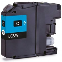 Cartucho Brother LC225 XL Cyan Compatible
