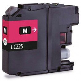Cartucho Brother LC225 XL Magenta Compatible