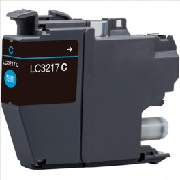 Cartucho Brother LC3217 Cyan Compatible