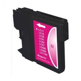 Cartucho Brother LC980M LC1100M Magenta Compatible