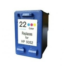 Cartucho HP 22XL Color Remanufacturado