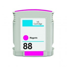 Cartucho HP 88XL Magenta Compatible