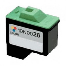 Cartucho Lexmark 10N0026 Color Remanufacturado